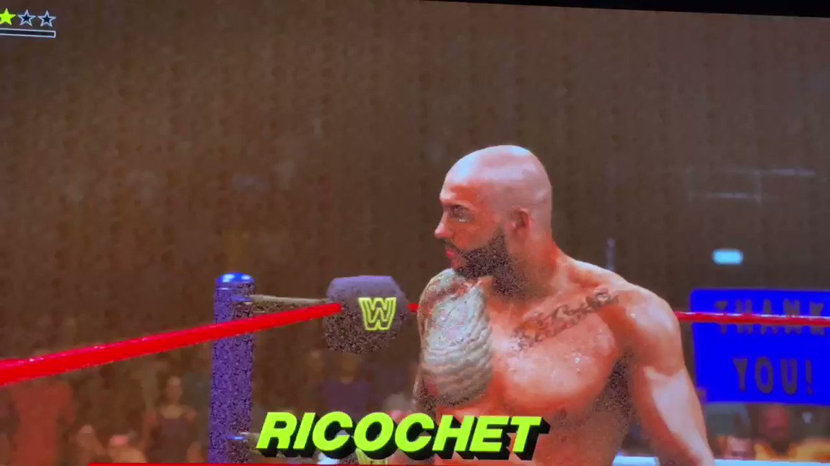 #ricochet #samoajoe #wwe2k20 @KingRicochet @SamoaJoe @WWEgames