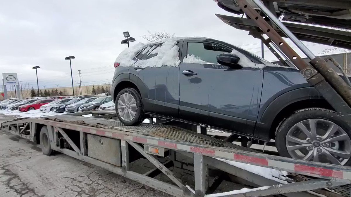 Image for the Tweet beginning: The first ever CX-30 has