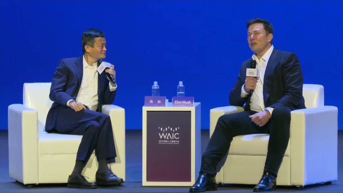 Image for the Tweet beginning: Elon Musk: Computers are much