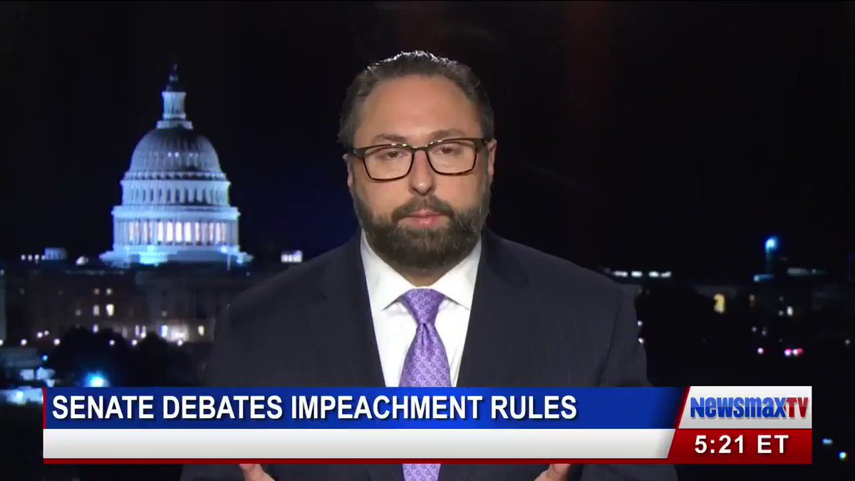 """""""I would like to see these people exposed. I'd like to see them cross-examined,"""" @JasonMillerinDC tells Chris Salcedo.""""Lev Parnas... even Rachel Maddow over at MSNBC... [are] fact witnesses.""""#ImpeachmentTrial http://newsmaxtv.com"""