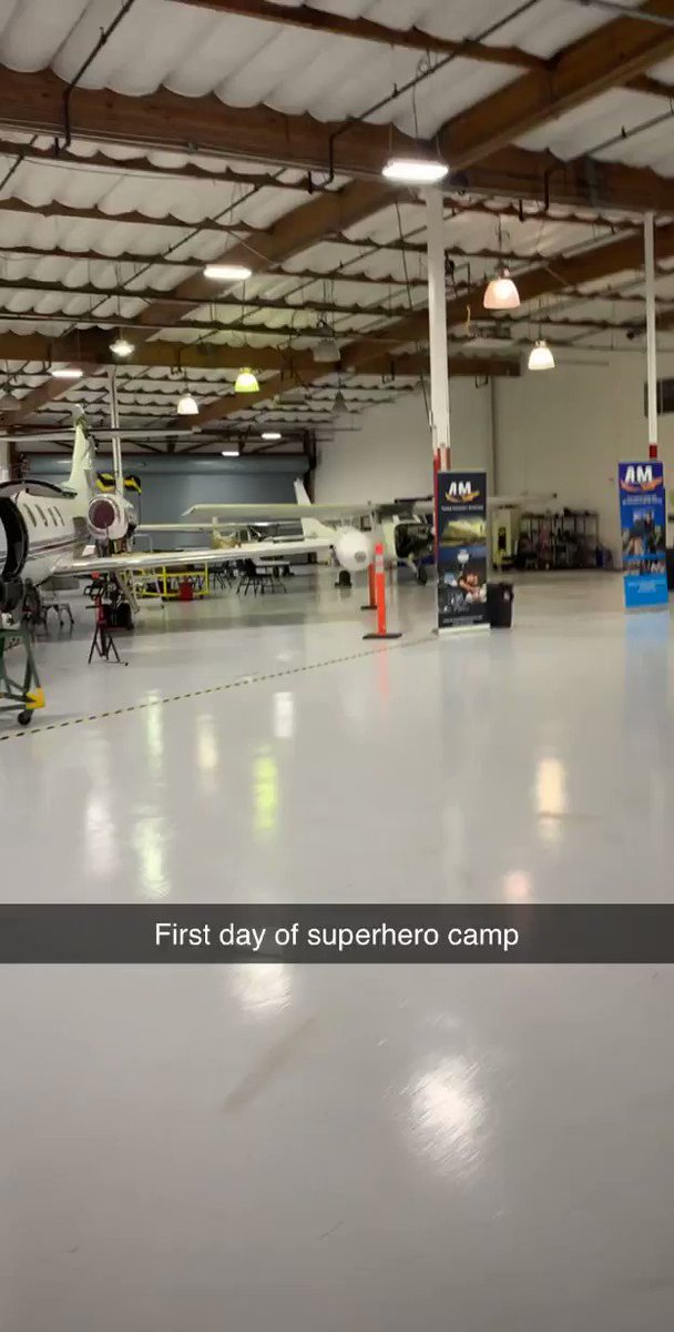 For as long as I can remember I've Been fascinated by airplanes ✈️ and I've always wanted to fly and own one. Obviously I'm not anywhere close to flying one or owning one but I've have just taken my first step towards my goal. Jan 21st, 2020 first day of super hero camp.
