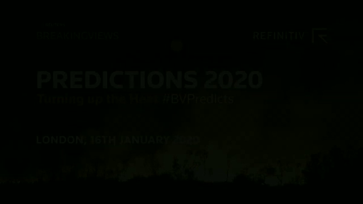 From London Predictions 2020: Generation Investment Management's David Blood predicts that there will be a carbon tax in the United States in the next five years. Watch the video #BVPredicts