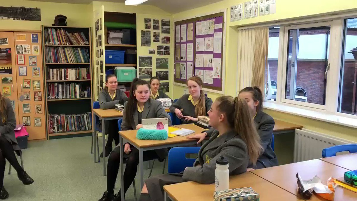 Image for the Tweet beginning: Year 9 music class letting