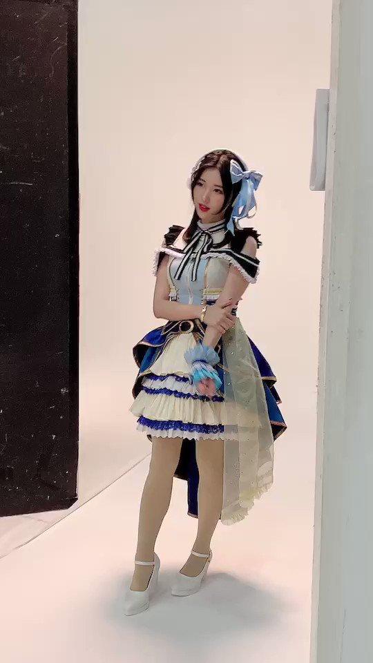 衣装はこんな感じです!麗は青色担当です🔷31日、宜しくお願いします🔹#D4DJ#渡月麗