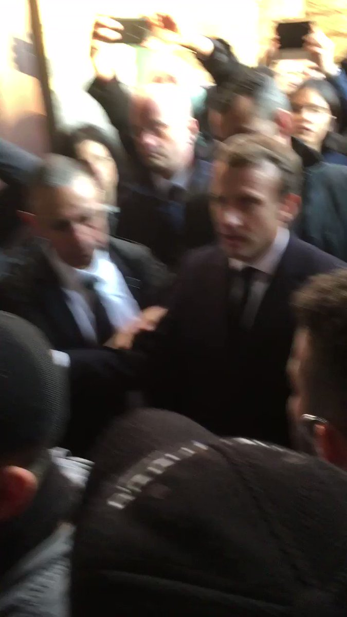 On his first day in Jerusalem, France's Macron rips into Israeli security