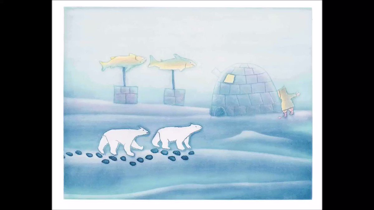 Image for the Tweet beginning: ᐅᖃᐅᓯᓕᕆᔾᔪᑎᕗᑦ ᐅᓪᓗᒥ Word of the day