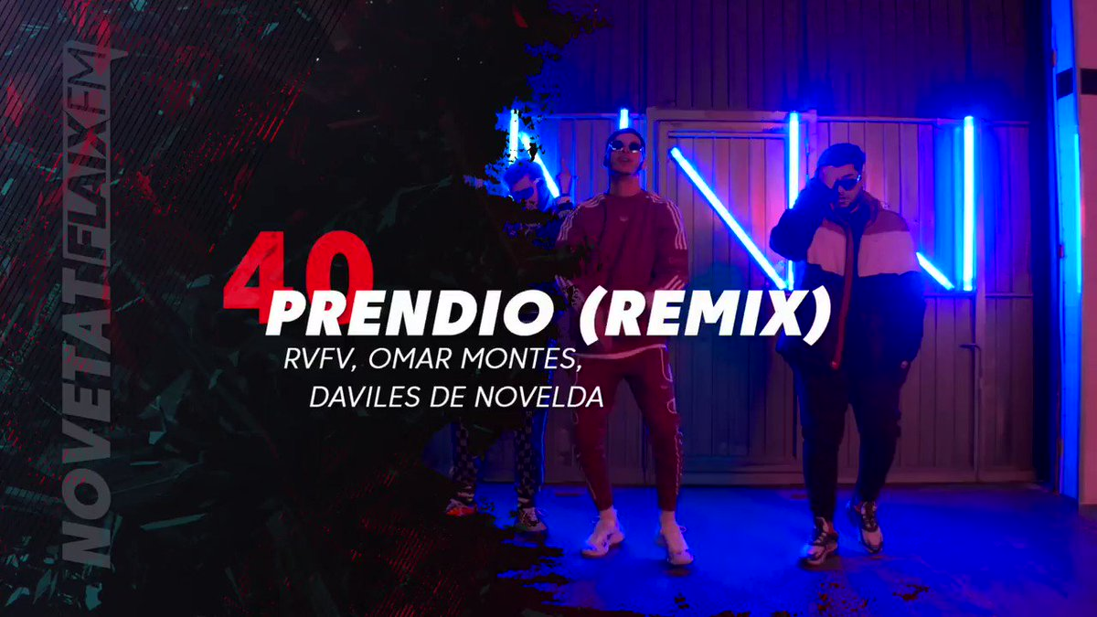 "Image for the Tweet beginning: ""Prendío (Remix)"" de RVFV i"