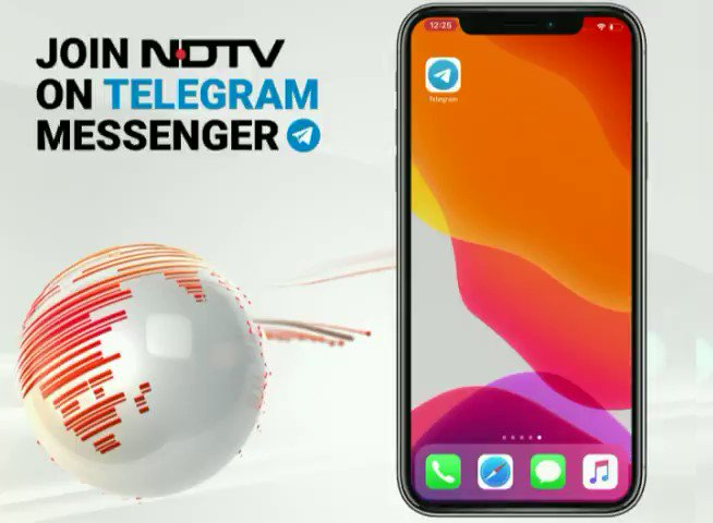 NDTV is now on Telegram: Non-stop news feed, personalised news services, videos and more. Join now: http://bit.ly/ndtvTgrm