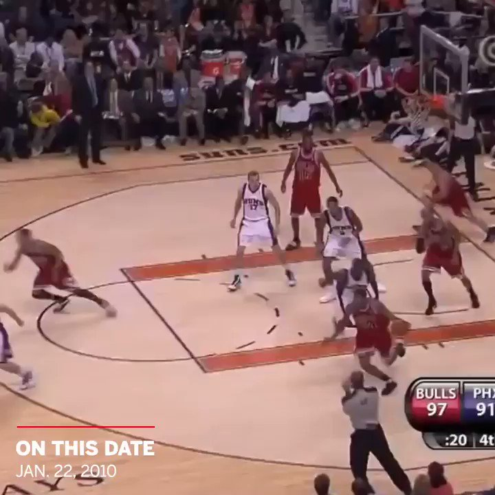 11 years ago today, Derrick Rose put Goran Dragic on a poster 😱  📽️: @SportsCenter