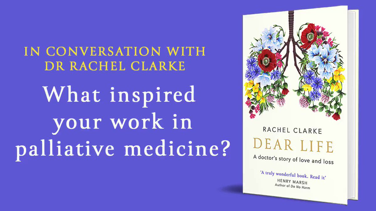 #DearLife author @doctor_oxfordchooses to inhabit a place many people would find too tragic to contemplate, bringing care and comfort to those reaching the end of their lives. #DearLife is out on 30th Jan, pre-order now: fal.cn/369Si