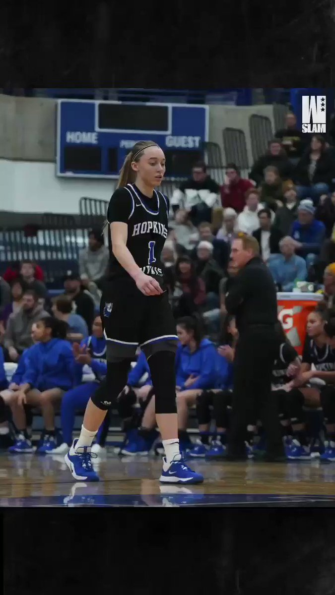 Paige dropped 27 points in Hopkins biggest game of the season 🤩 @paigebueckers1 @SLAM_HS @jnglert