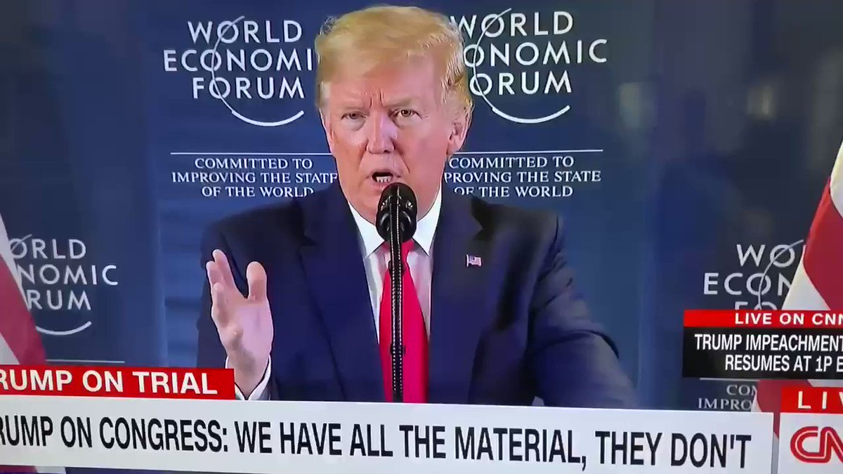 """Heres Trump bragging about obstructing Congress. """" we have all the material, they don't have the material"""""""