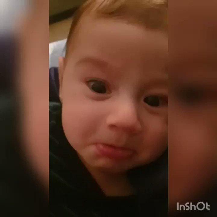 he is my nephew little italian bts fan💜💜 #BTS @BTS_twt @bts_bighit