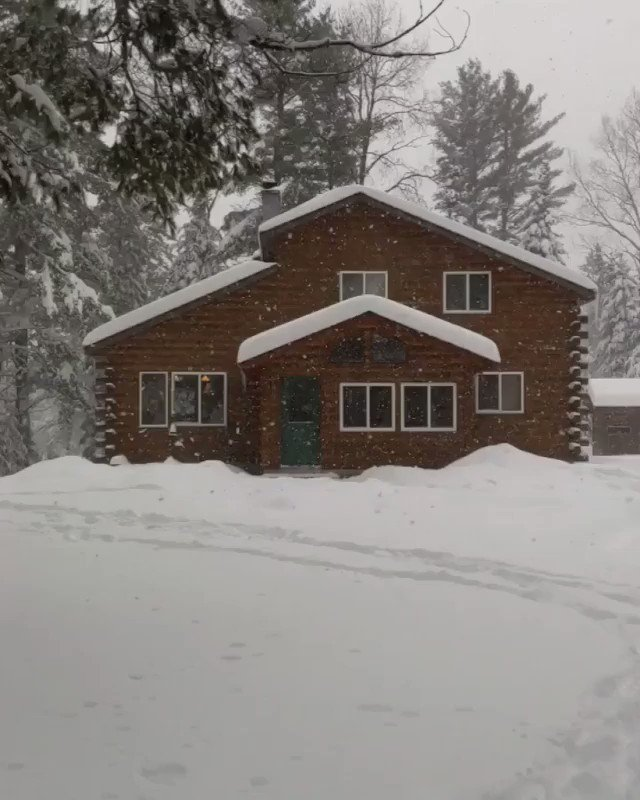 Image for the Tweet beginning: Sundays-at-the-cabin vibes. 🙏 (📷: @travelnaturephotos16) #TravelWI