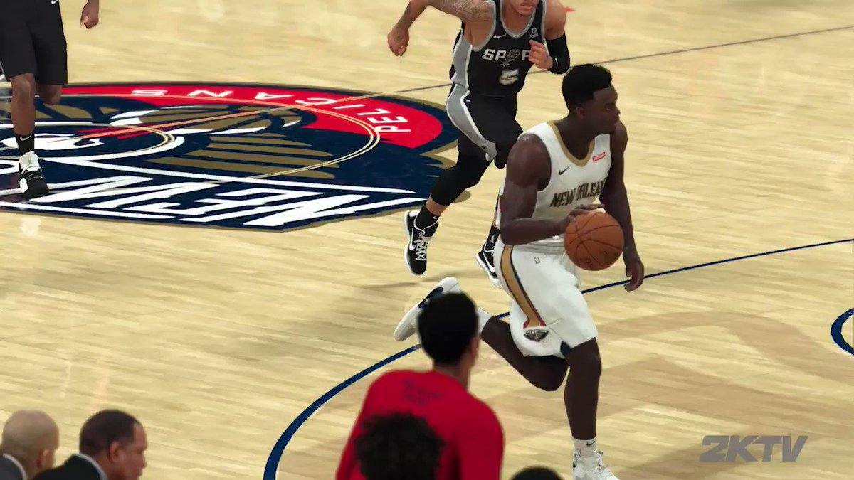 """When @Zionwilliamson sat down with #2KTV before the season, he had a message for his fans & supporters: """"We're going to try to do something special this year!""""  Tonight he makes his NBA debut!"""