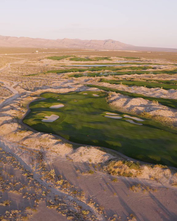 Image for the Tweet beginning: Aerial view of Hole #5