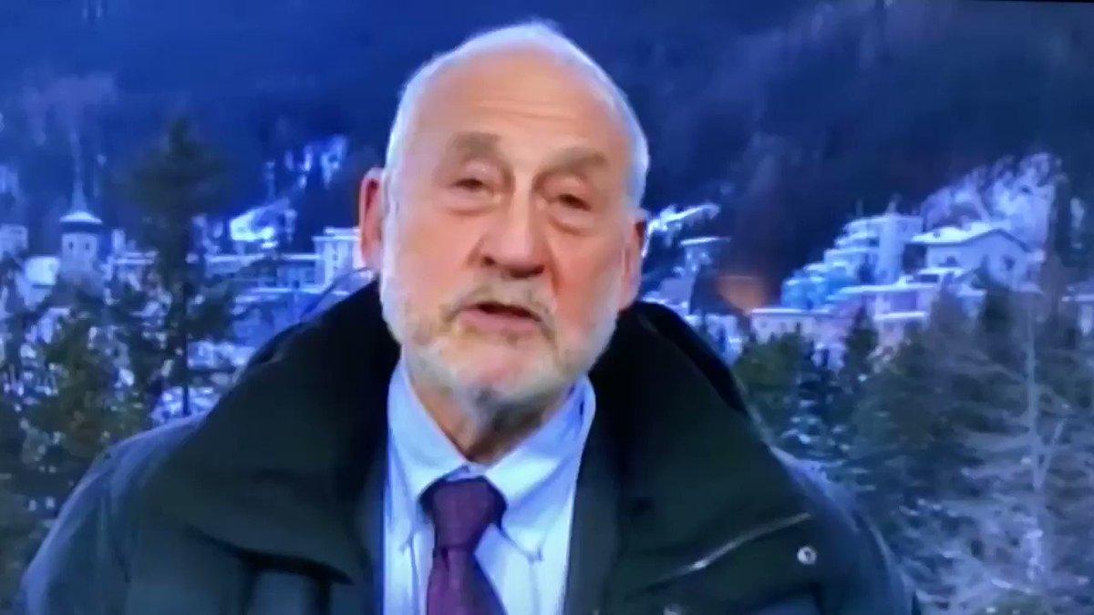 Nobel economist Joseph Stiglitz on the current state of the American dream. #Davos2020