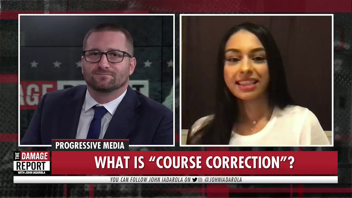"""""""Course Correction is designed to give you some hope & ways to change behaviour. It seems to be something that audiences are yearning for: a way to engage w/these global problems in bitesize ways so we don't all feel overwhelmed.""""  - @Nelufar on her new podcast #CourseCorrection"""