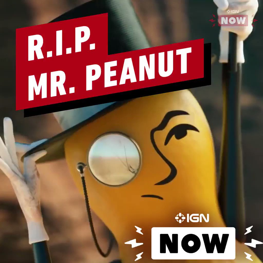 The Estate of @MrPeanut announced the beloved Planters mascot died saving the lives of actors Wesley Snipes and Matt Walsh. RIP: Rest In Peanuts 🥜🧐