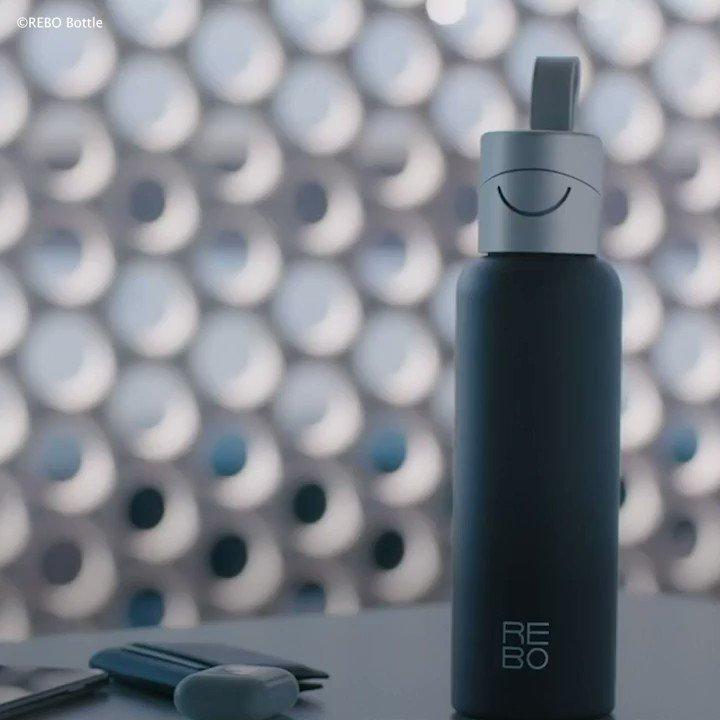 海洋プラスチック問題を解決するために生まれた水筒👏 by REBO詳しくはこちら👉#環境保護 #プラスチック問題 #脱プラ #エコ