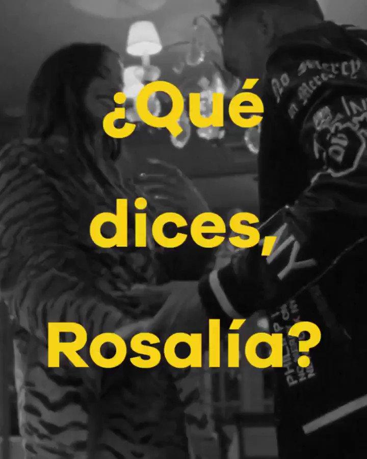 """Image for the Tweet beginning: ¡¿Qué dices, @rosaliavt?! """"¿Quién lo diría?"""