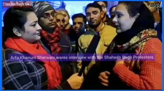 A clip from thehe @thewire_in ,s @khanumarfa  interview with #ShaheenBagh protesters. ❤️👇