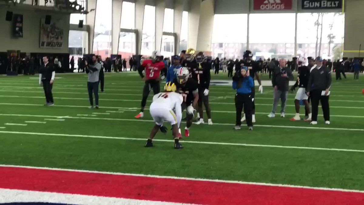Video: Ohio State Is Even Beating Michigan At The Senior Bowl