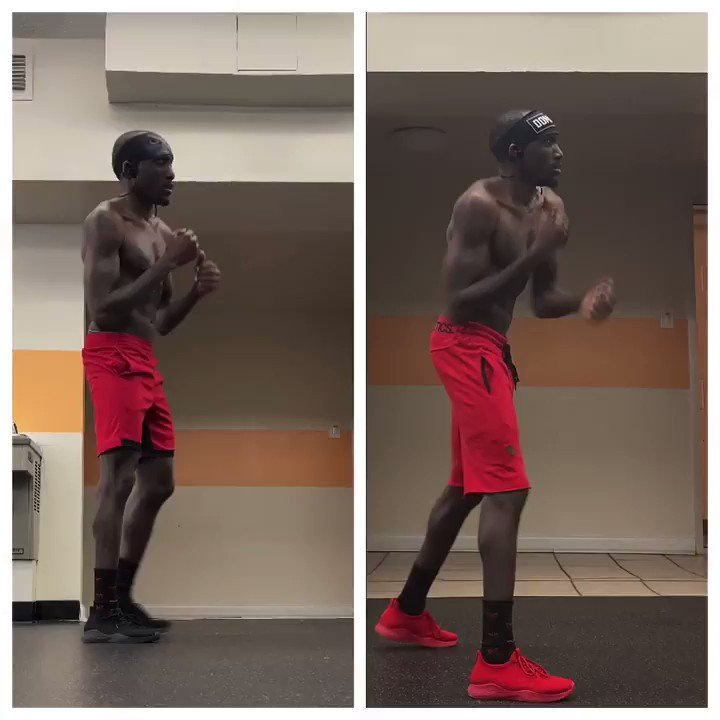 who's faster... me on the LEFT (last friday) or me on the right (today)? #hands  #fasthands  #speed  #handspeed  #cardio  #boxing  #lean  #core  #muscle  #train  #definition  #cut  #shred  #strong  #strength  #fit  #fitness  #exercise  #sweat  #health  #dedication  #consistency   @eminem  #godzilla