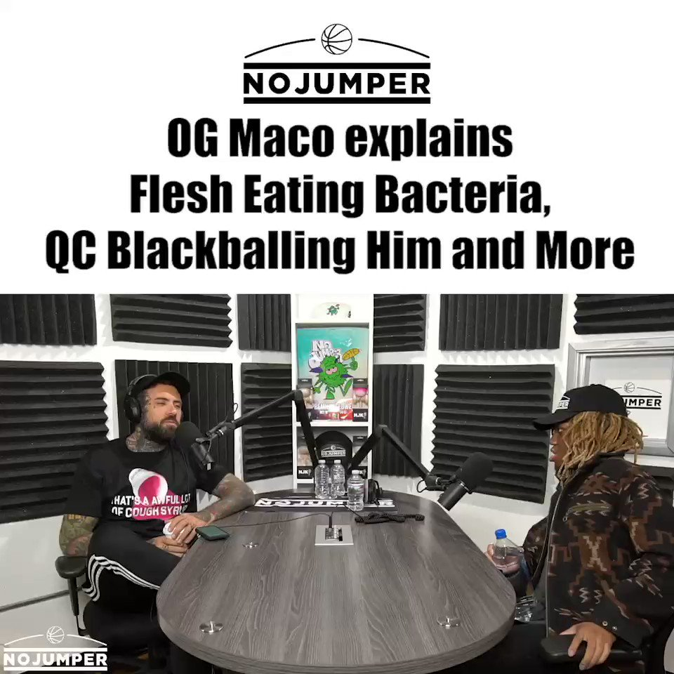 New interview with @OGMACO out now!!🔥🔥 youtu.be/bK0BJkknwus