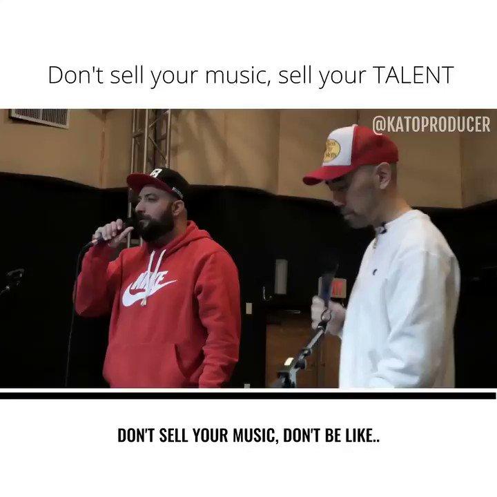 DON'T sell your music!! @AbeBatshon @BeatStars