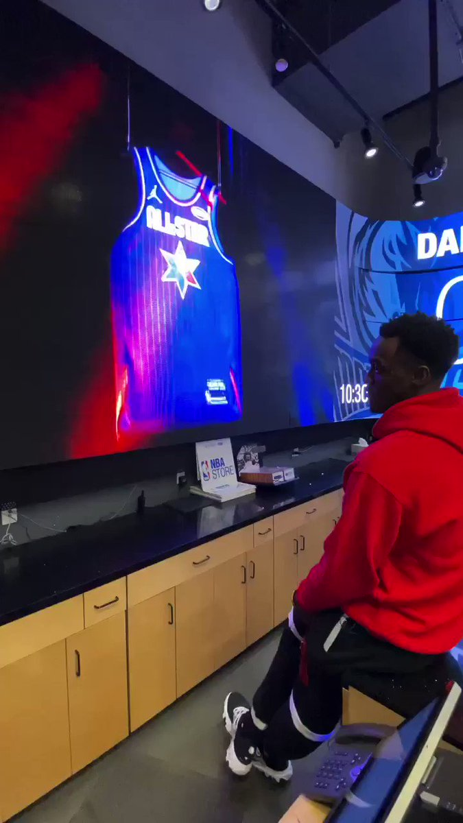 Pascal's reaction to being named an All-Star starter ❤️ (via @NBA)