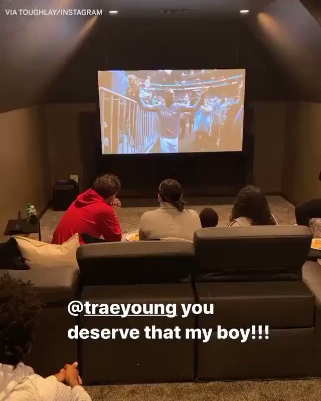 .@TheTraeYoung was overcome with emotion when he found out he was selected as an All-Star starter 🙏  (via @goodysav)