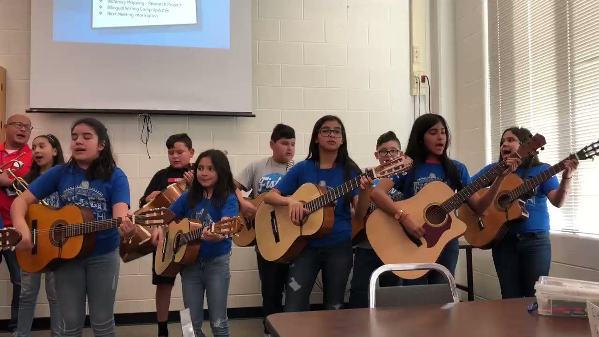¡Que Orgullo! What a great welcome Fisher Marlins! Enriching! #nisd_alliance_chat Thank you