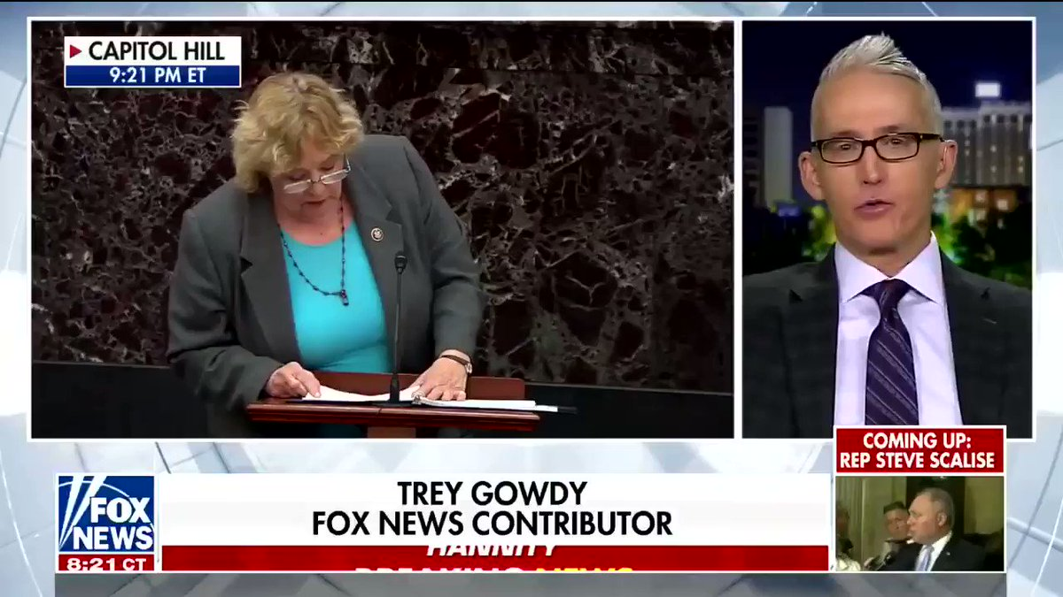 Trey Gowdy and Sean Hannity seem to want Obama called as a witness in Trump's impeachment trial