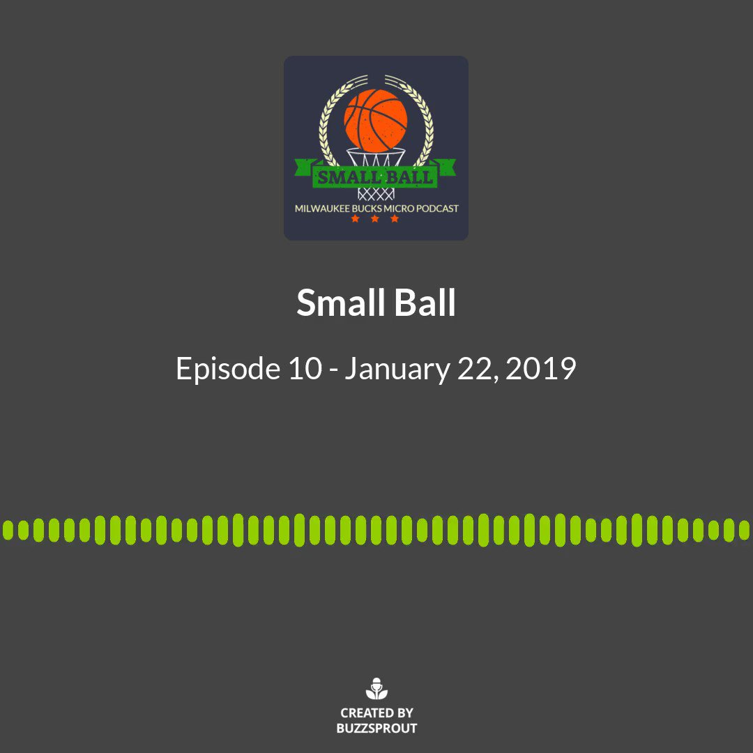 Check out the clip, then check out the full episode!  Apple: http://bit.ly/smallballpodcast… Spotify: http://bit.ly/smallballpod  #FearTheDeer #NBATwitter #BucksTwitter #Podcast #MicroPodcast #BucksPodcast #Milwaukee