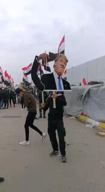 ⭕ بغداد - قبل قليل #Baghdad #ثورة_العشرين_الثانية_2020#الا_مليونيه