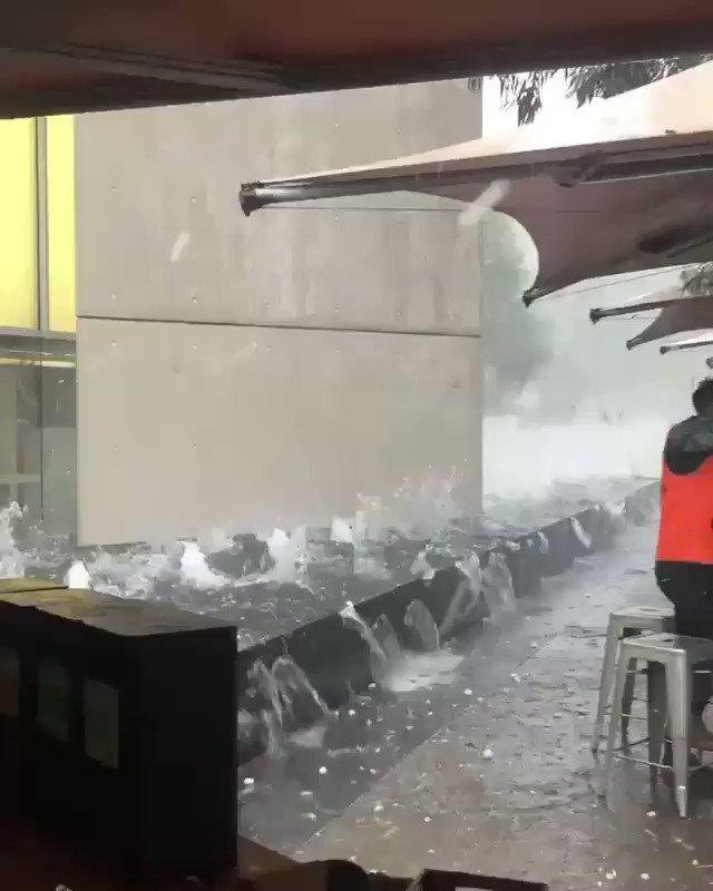 オーストラリアに降った雹が完全に砲弾