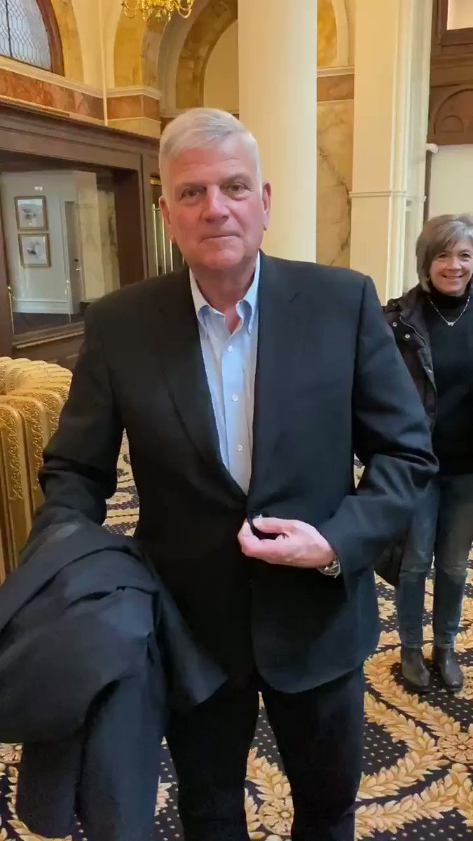 I found @Franklin_Graham and he has his walking shoes on for @March_for_Life