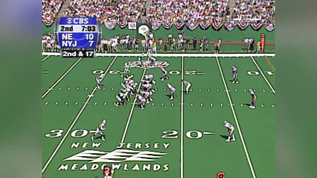 Heres the Tom Tupa/Keyshawn Johnson touchdown pass @ZoandBertrand were just discussing with @DrewBledsoe ⬇️⬇️⬇️