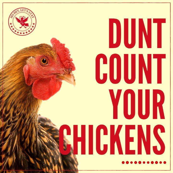 Image for the Tweet beginning: When is a British chicken