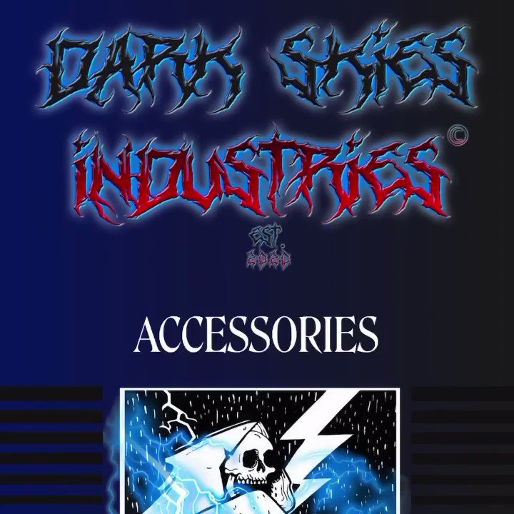 Get your very own Dark Skies hats, stickers, & phone cases now available in the accessories tab on the official website at  link in bio!  🏁 #DarkskiesIndustries #Darkskies #DarkSkiesBrightFuture #TShirt #Hoodie #LongSleeve #Fashion #Streetwear #Street