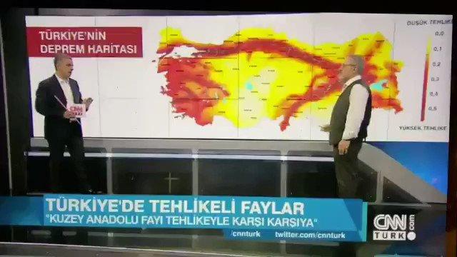 Deprem Uzmanı Naci Görürün 6 Ekim 2019da CNN ekranlarında #Elazığ  ve çevresini vuran depremi nokta atışıyla işaret ettiği program; #Deprem