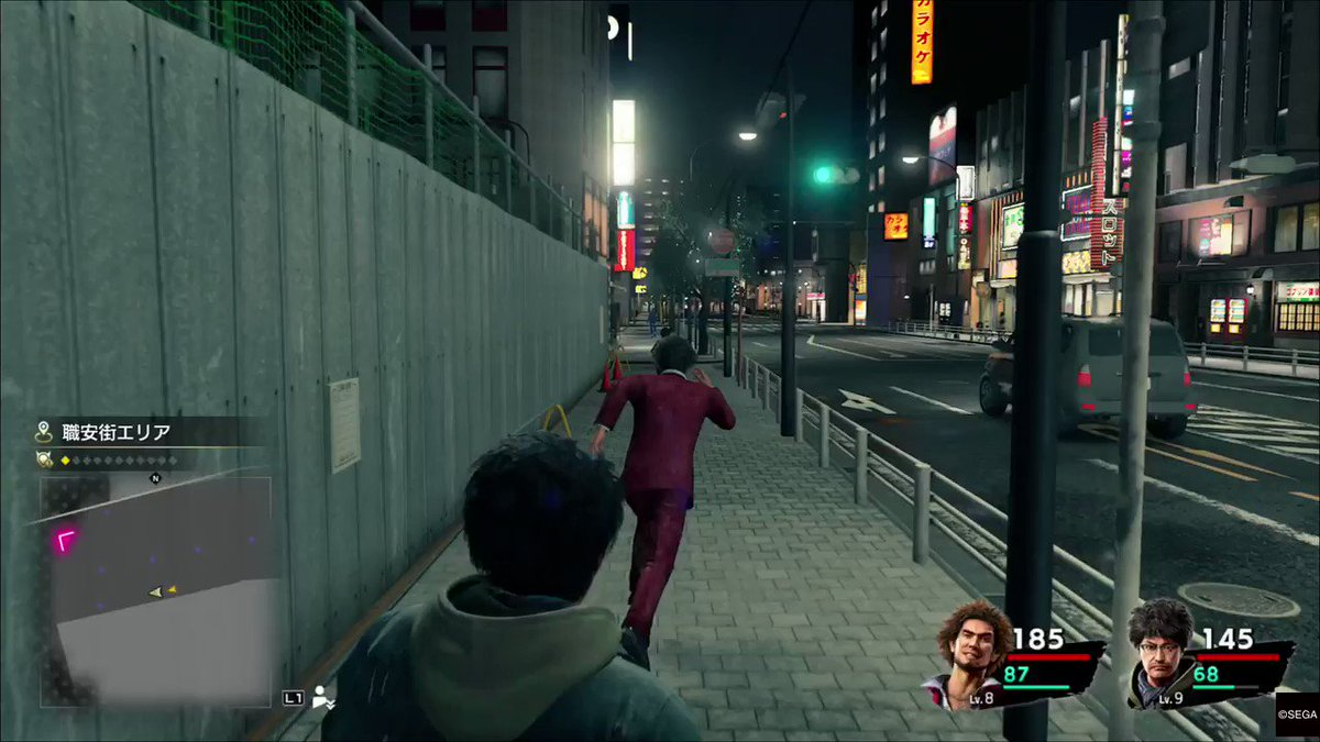 Whoops. Look both ways before crossing the street. #Yakuza7  #PS4share  https://store.playstation.com/#!/tid=CUSA15444_00 …