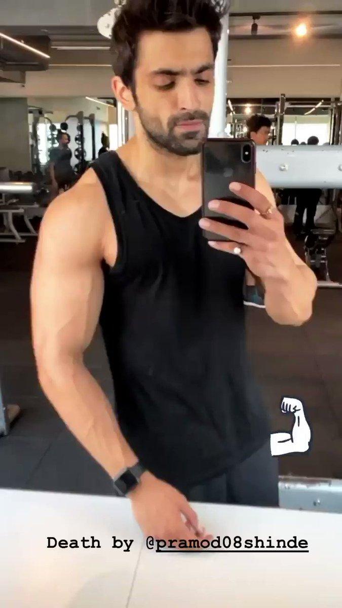😍🔥 Starting Saturday the right way #Gym #SaturdayMorning  🔁🎥 @arjitaneja 💪Death by #PramodShinde   #ArjitTaneja #Azaan #AJ #AzaanAkhtarMirza #BahuBegum #Actor #GymTime #Workout #Fitness #Tellywood #Bollywood #ArmDay
