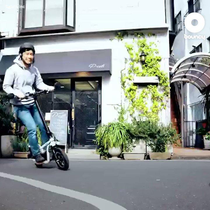 原付き免許で乗れる、電動立ち乗りスクーター by glafit inc詳しくはこちら👉#乗り物 #スクーター #原付二種