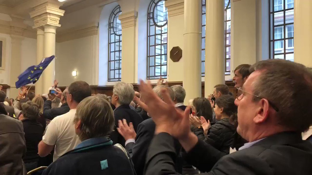 Image for the Tweet beginning: Standing ovations for @DominicGrieve1 at