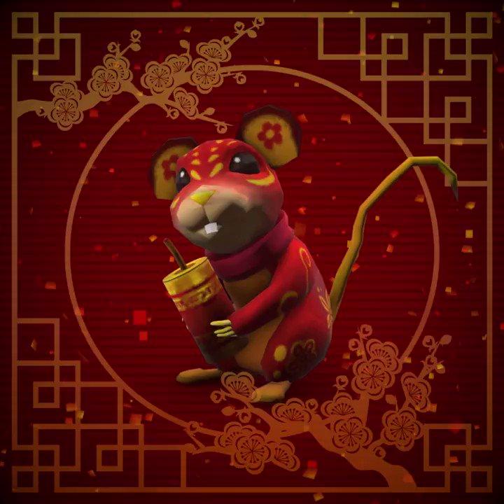 春节快乐! Ring in the #LunarNewYear with this adorable shoulder accessory: rblx.co/new-year-rat