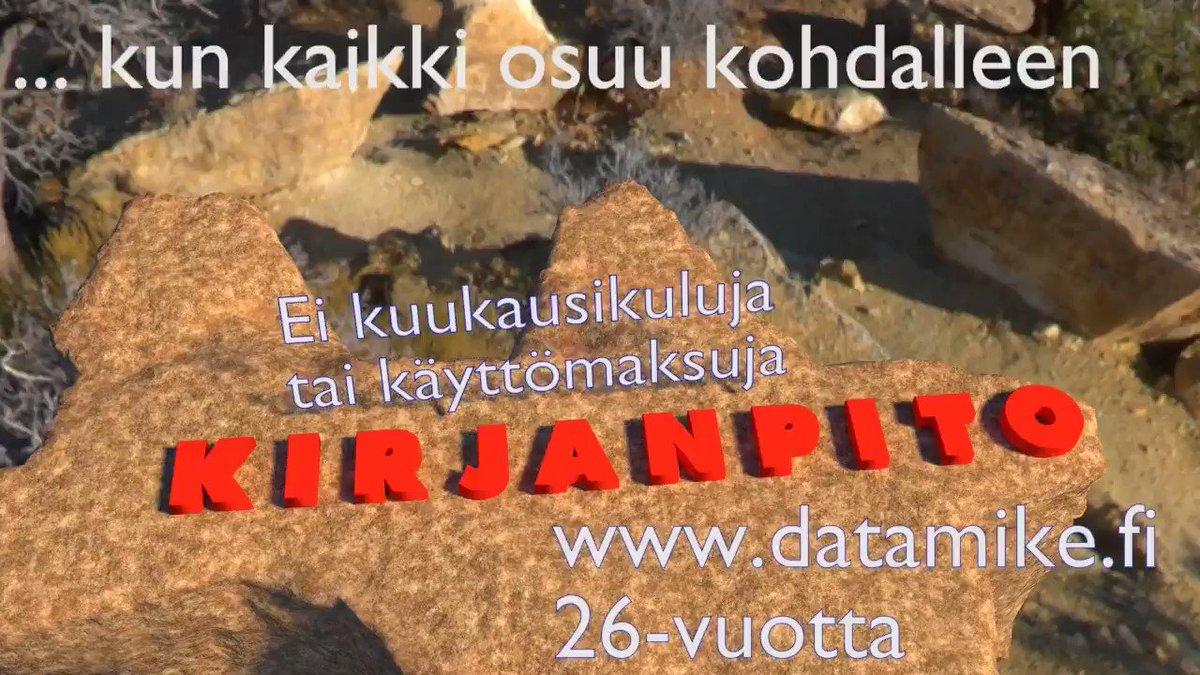Image for the Tweet beginning: Nykyaikainen #taloussuunnittelu ja #taloushallinto ja