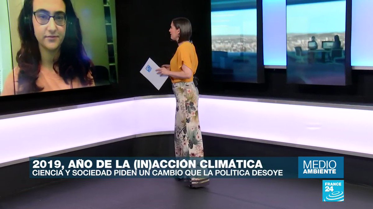⁣Gracias @France24_es por amplificar mi vos!⁣⁣⁣⁣⁣ ⁣⁣⁣⁣⁣ Check out this TV interview I did (from my schools costume room when I was supposed to be in homeroom) about the youth climate movement and what 2020 holds for us. It's in Spanish, (sorry gringos 😂)! ⁣⁣⁣⁣⁣