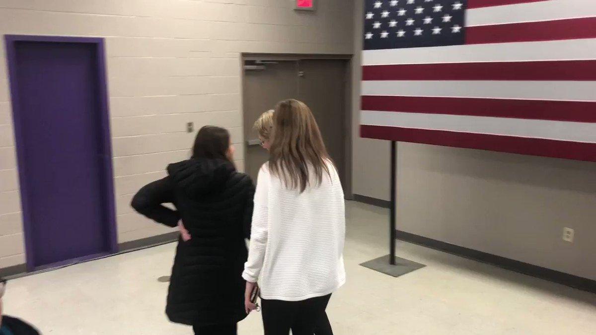 Elizabeth Warren learns she's been endorsed by the @DMRegister